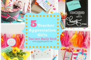 5 Teacher Gifts Teachers Really Want