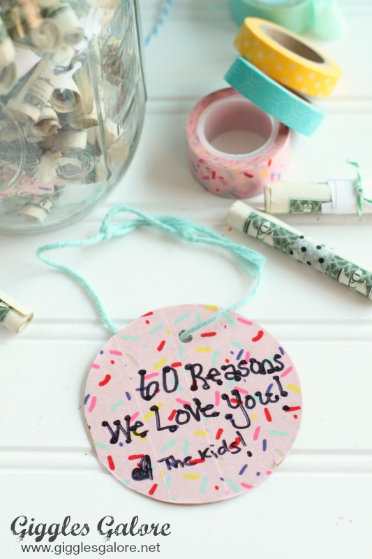 Reasons We Love You Gift Tag