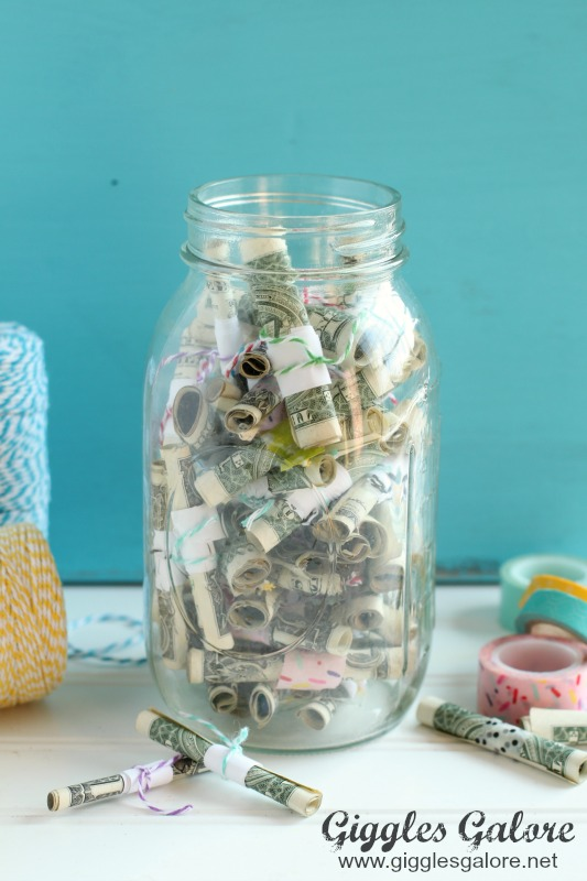 Reasons We Love You Jar of Money Gift