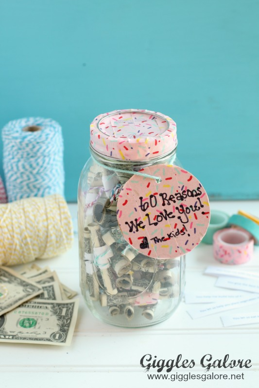 Reasons We Love You Money Gift_Giggles Galore