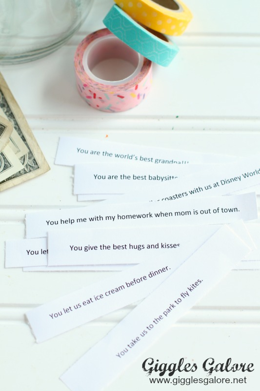 Money Jar Birthday Gift Idea | Reasons Why We Love you