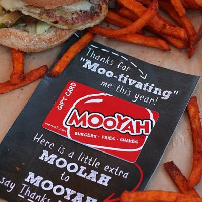 MOOYAH Teacher Appreciation Gift Idea