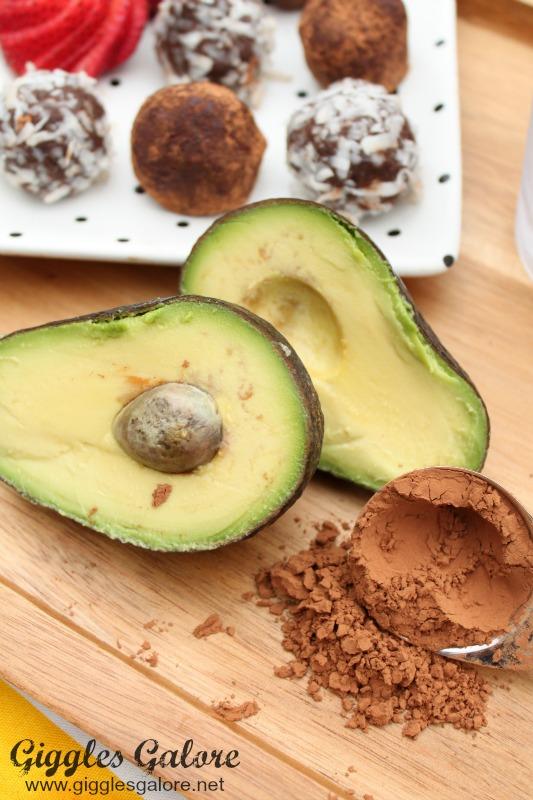 Avocado Chocolate Truffles