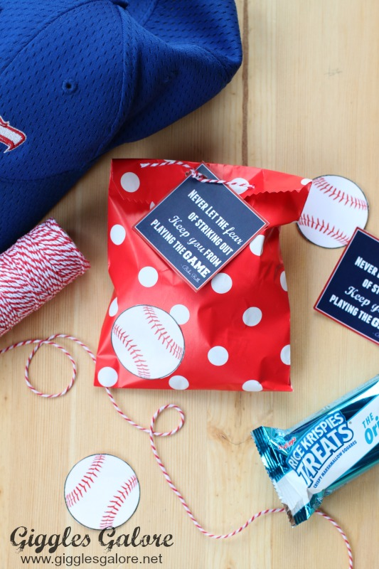 Baseball Favor Treat Bags_Giggles Galore