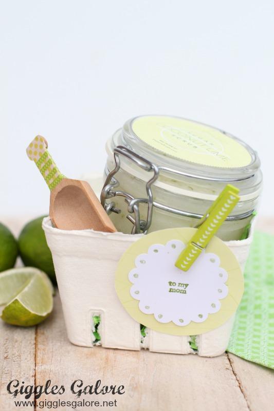 Coconut Lime Sugar Scrub Gift