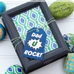 """Dad You Rock"" Father's Day Gift"