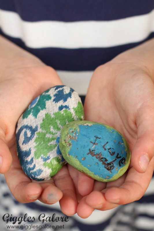 Dad You Rock Gift Painted Rocks