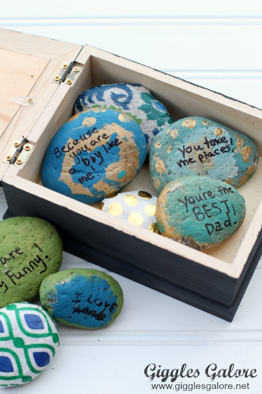 Dad You Rock Painted Rocks