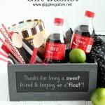 Dirty Coke Float Gift Basket