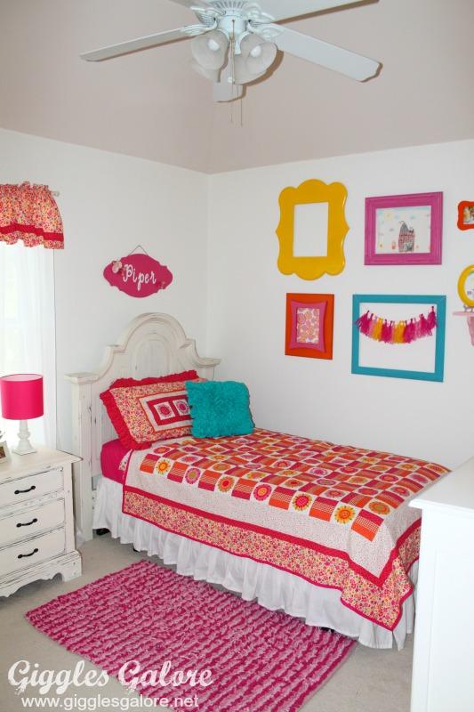 Girls Bedroom Makeover_Giggles Galore