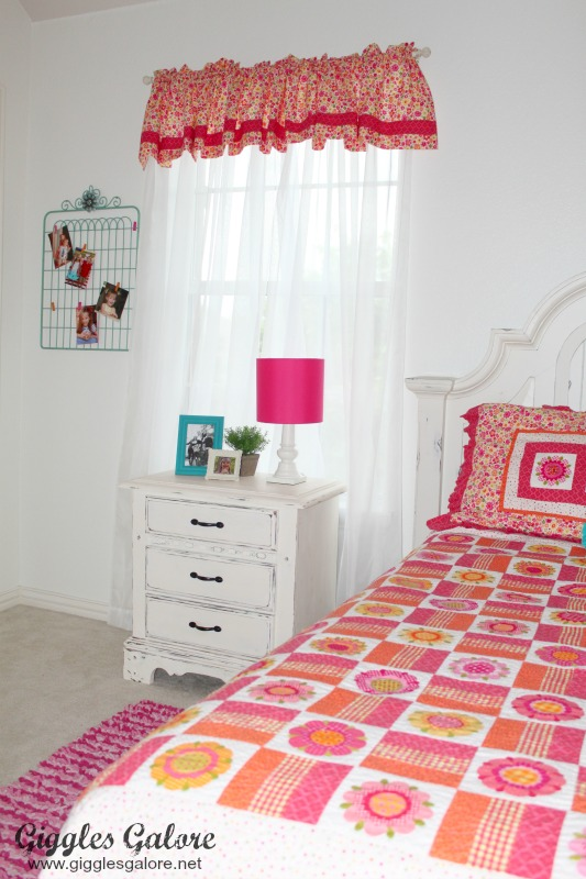 Girls Bedroom Makeover_Nighttable
