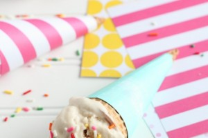 DIY Ice Cream Cone Wrappers