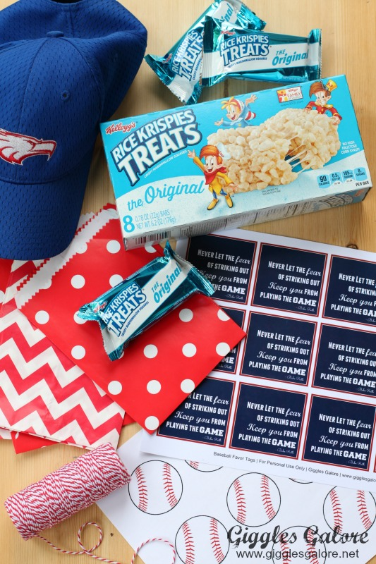 Rice Krispies Treats Baseball Favor Supplies