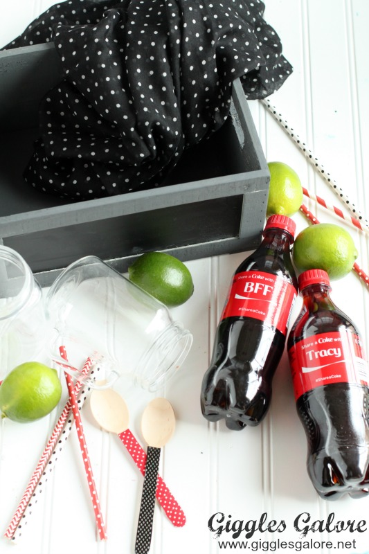 Share a Coke Float Supplies