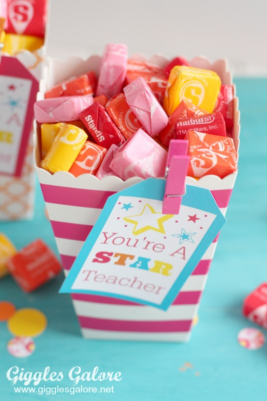 Starburst Teacher Appreciation Gift