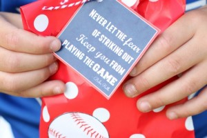 Tball Favor Bag