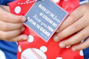 Baseball Game Treats