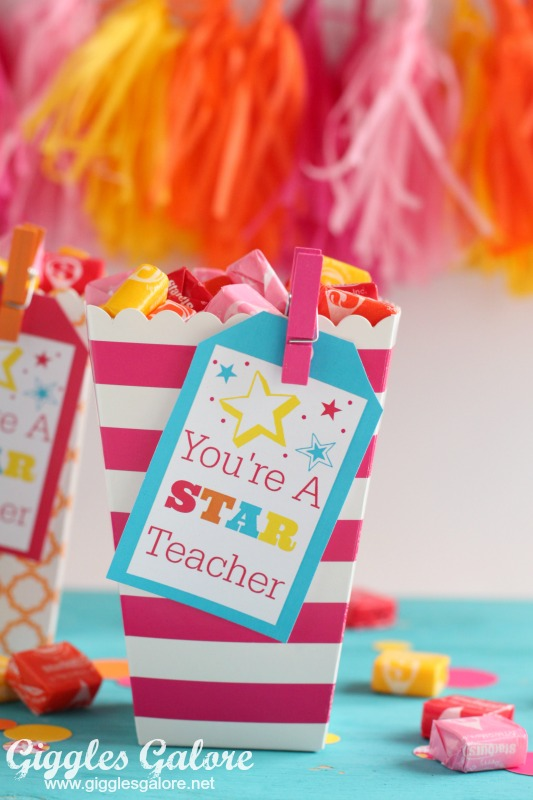Teacher Treat Gift with Free Printable