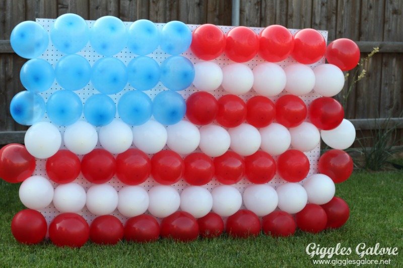 4th of july flag balloon dart game for 4th of july party ideas for adults