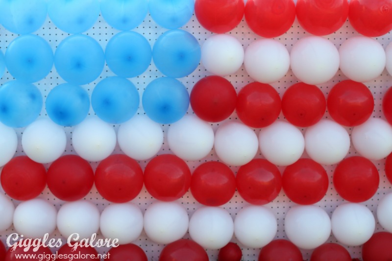 4th of July Balloon Game