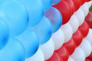 4th of July Flag Balloon Dart Game