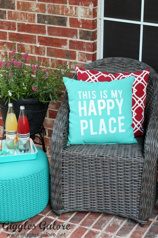 Colorful outdoor porch decor tips