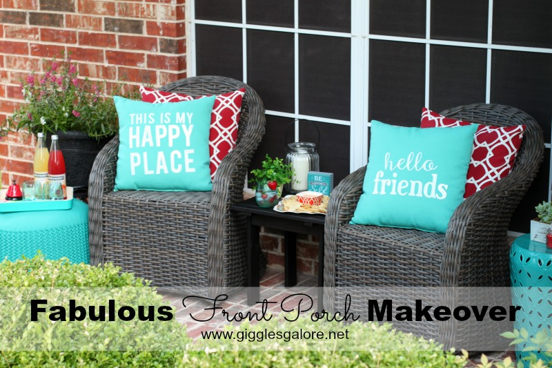 Fabulous Front Porch Makeover_Giggles Galore