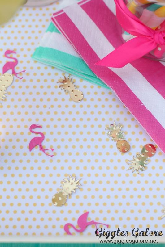 Flamingo Confetti