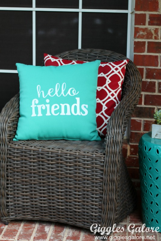 Hello Friends Pillow