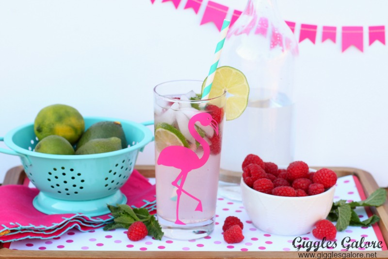 Raspberry Lemonade Mojito Drink