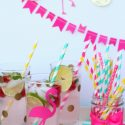 Raspberry Lemonade Mojito Party Drink