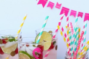 Raspberry Lemonade Mojito Party Drink