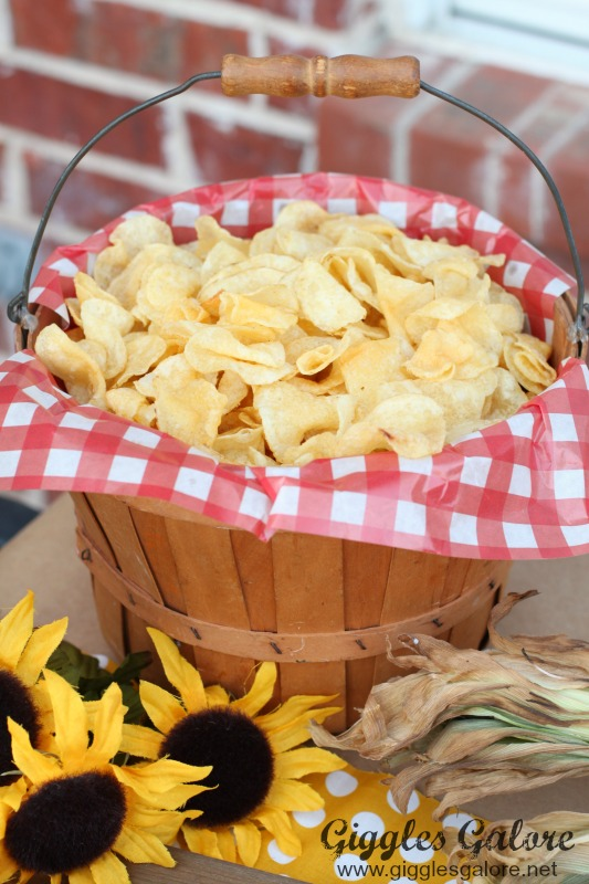 Backyard BBQ Potato Chips