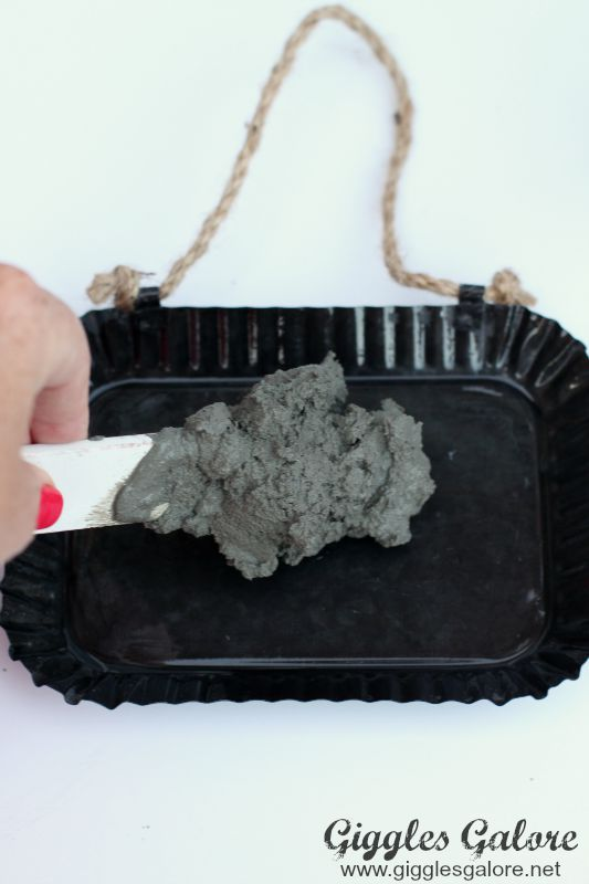 Concrete Mix in Mold