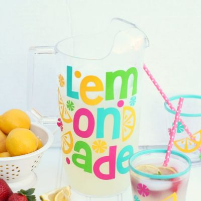 Pitcher Perfect Lemonade