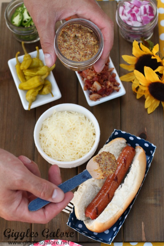 Hot Dog Bar Condiments