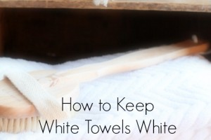 How to Keep White Towels White and Fresh Smelling