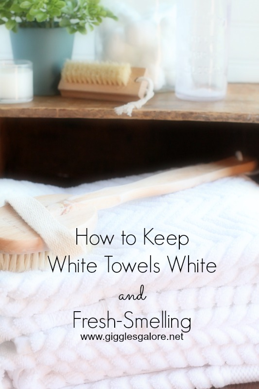 How to keep white towels white and fresh smelling - How to keep a bathroom smelling fresh ...