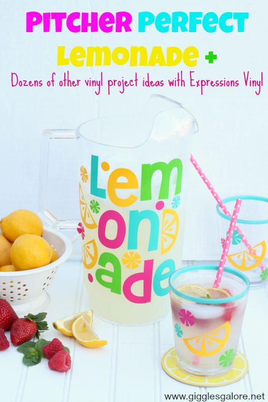 Pitcher Perfect Lemonade Giggles Galore