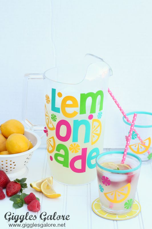 Pitcher Perfect Lemonade - Giggles Galore