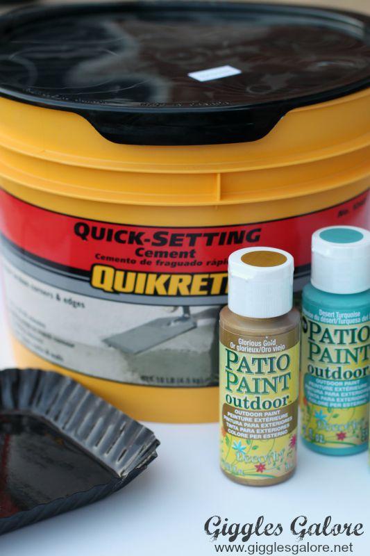 Quick Set Quikrete Cement