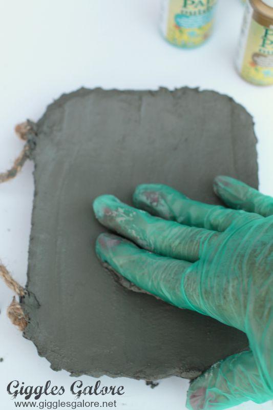 Smoothing Concrete Ring Dish