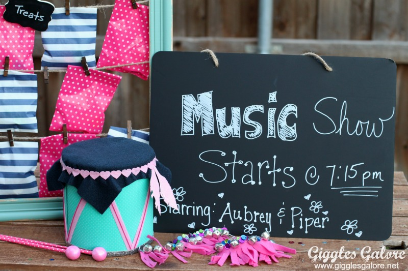 Summer Music Show with DIY Music Instruments