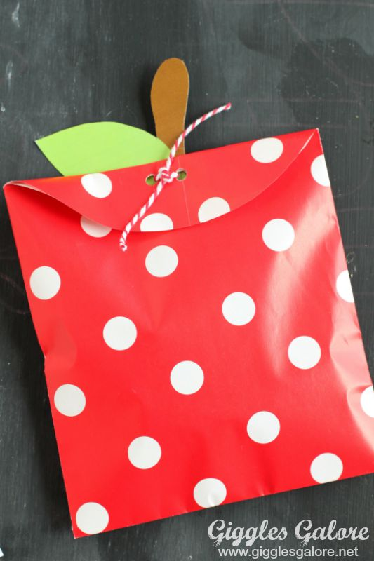 DIY Apple Treat Bag