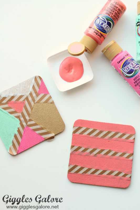 DIY Painted Coasters_Design
