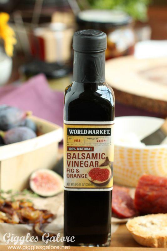 Fig and Orange Balsamic Vinegar