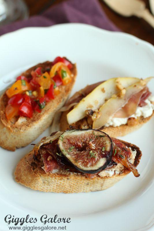 Gourmet Bruschetta Recipes_Giggles Galore