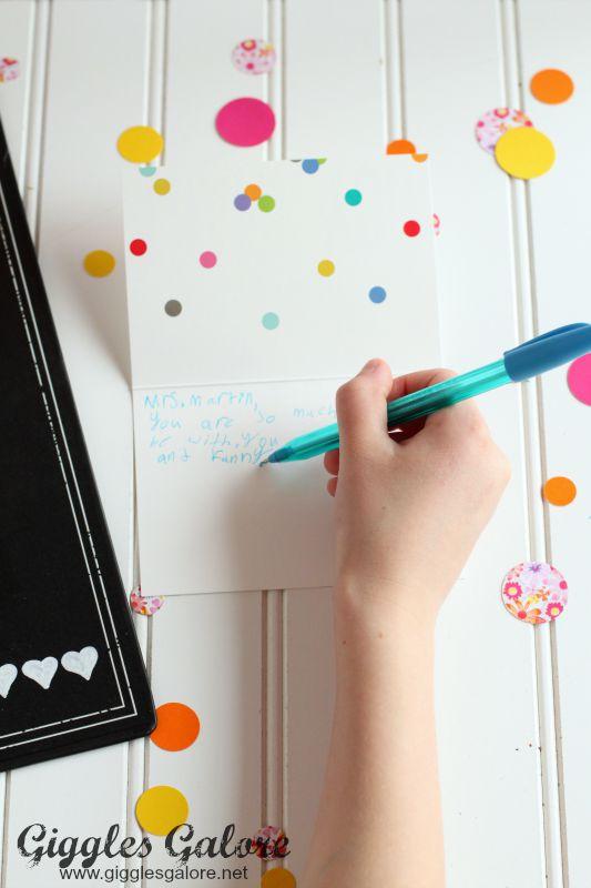 Handwritten Teacher Note