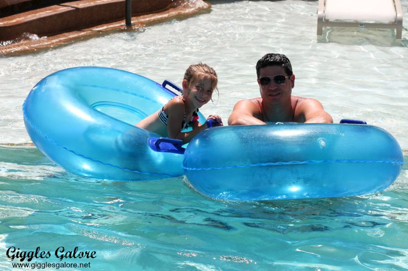 Lazy River Tubes at Woodlands Resort