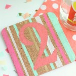 The Perfect Personalized Gift: DIY Painted Coasters